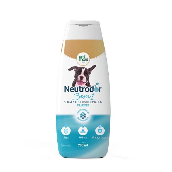 Shampoo 3 em 1 para Filhotes Neutrodor PetMais