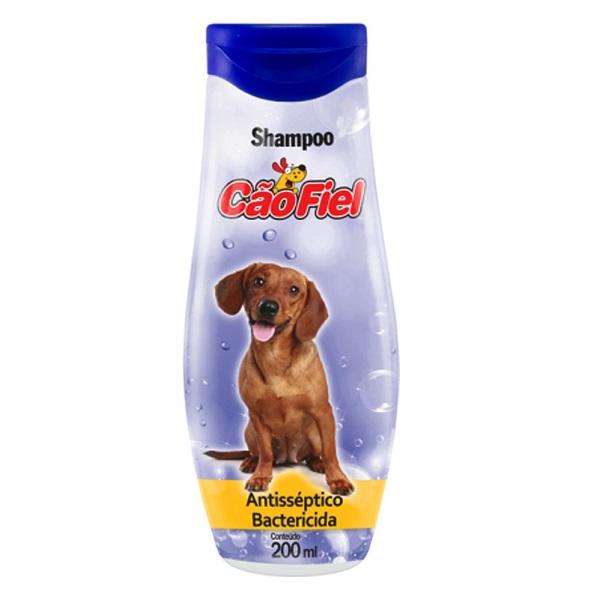 Shampoo antisseptico e bactericida cão fiel 200ml