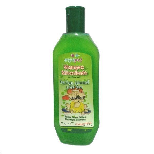 Shampoo aquapet siliconizado 500ml