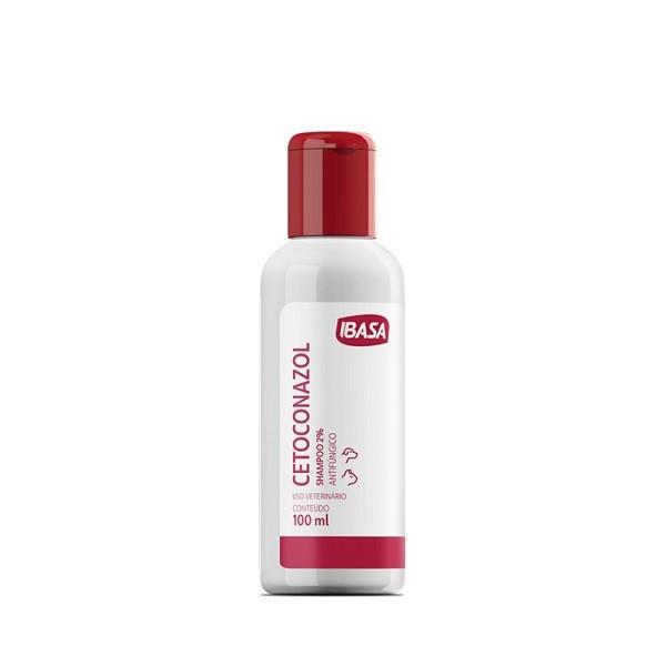 Shampoo cetoconazol ibasa 100ml