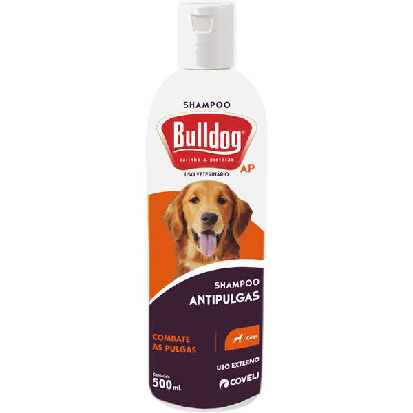 Shampoo coveli bulldog anti pulgas 500ml