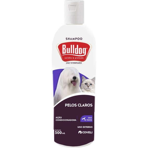 Shampoo coveli bulldog pelos claros 500ml