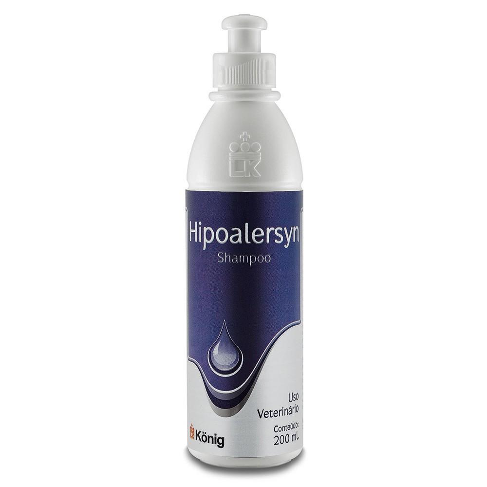Shampoo hipoalergênico hipoalersyn konig para cães e gatos 200ml