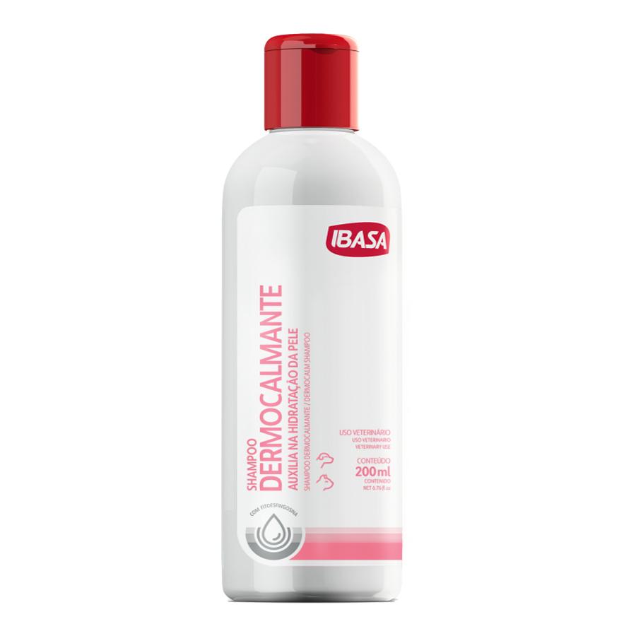 Shampoo ibasa dermocalmante para cães e gatos 200ml