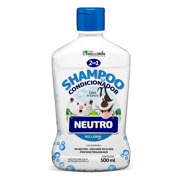 Shampoo kelldrin 2 em 1 neutro 500ml
