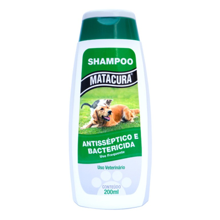 Shampoo matacura antisséptico e bactericida 200ml