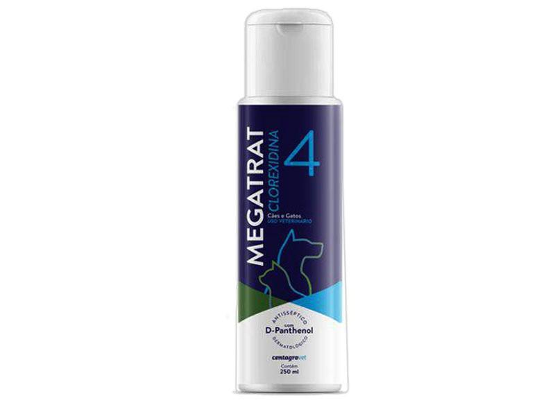 Shampoo megatrat clorexidin 4.1 250ml