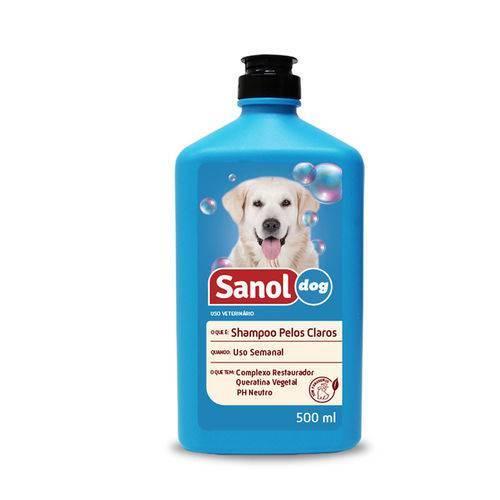 Shampoo sanol pelos claros 500ml