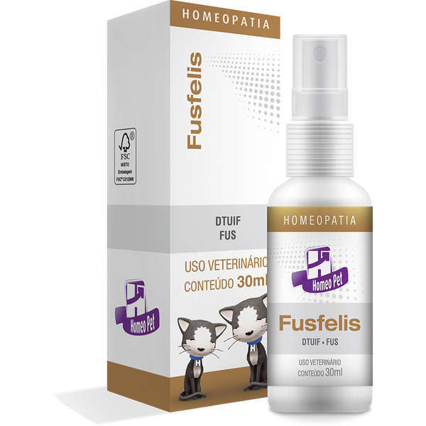 Sistema de terapia real h homeo pet fusfelis 30ml