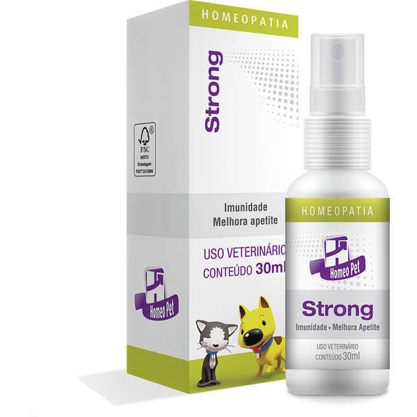 Sistema de terapia real h homeo pet strong 30ml