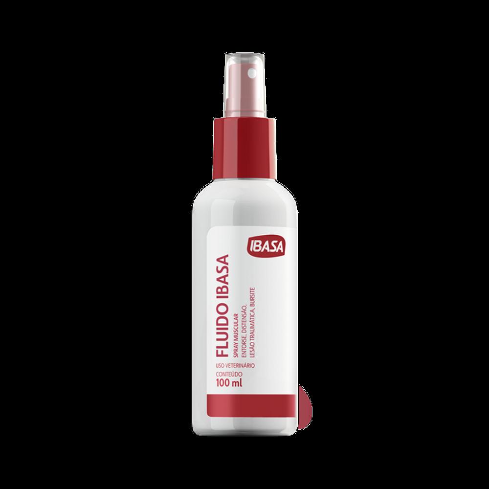 Spray muscular ibasa fluído 100ml