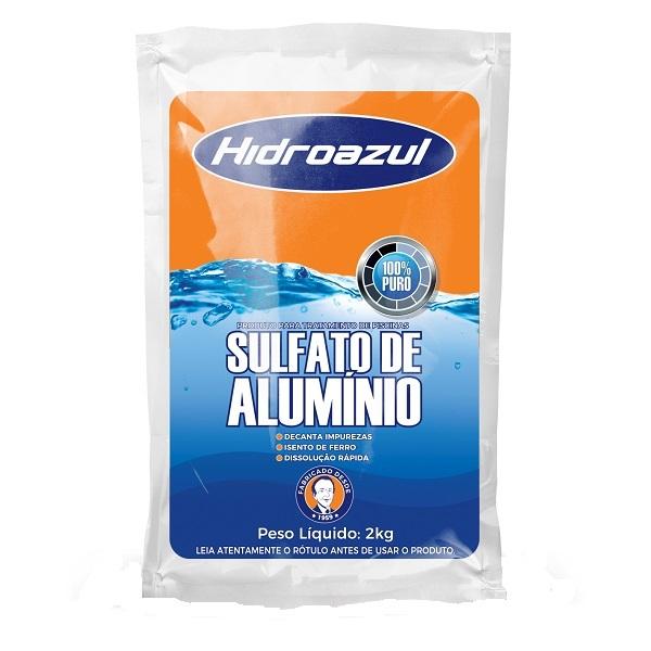 Sulfato de alumínio limper hidroazul 2kg