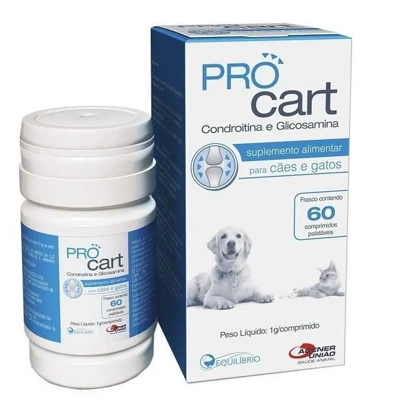 Suplemento alimentar agener pro cart 1g com 60 comprimidos