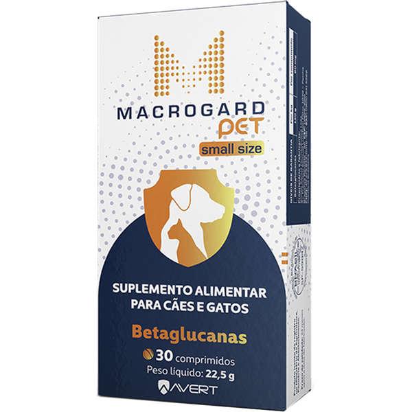 Suplemento Alimentar Avert Macrogard Pet Small Size para Cães e Gatos