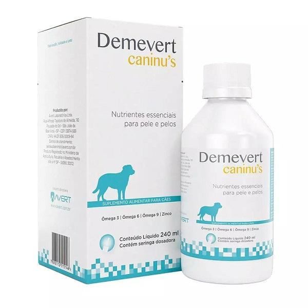 Suplemento alimentar demevert caninus 240ml