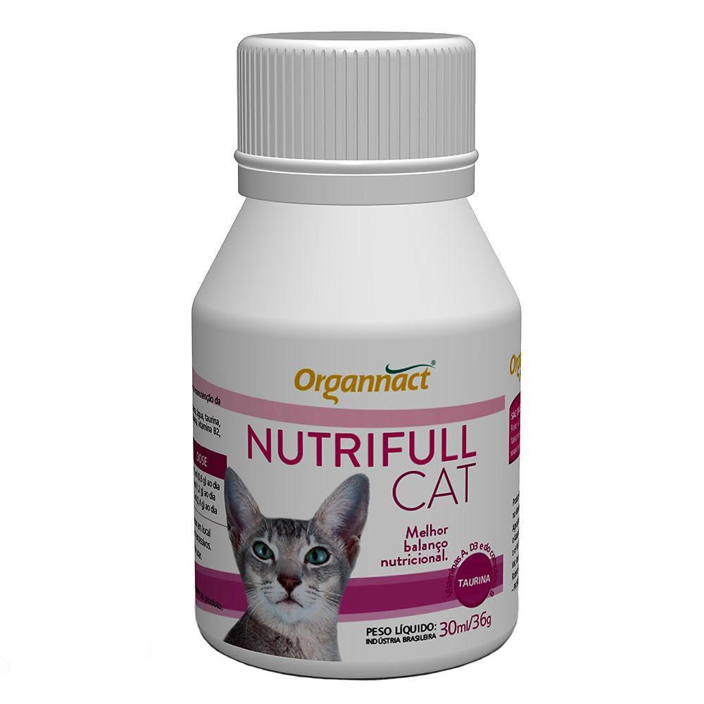 Suplemento alimentar nutrifull organnact cat 30ml