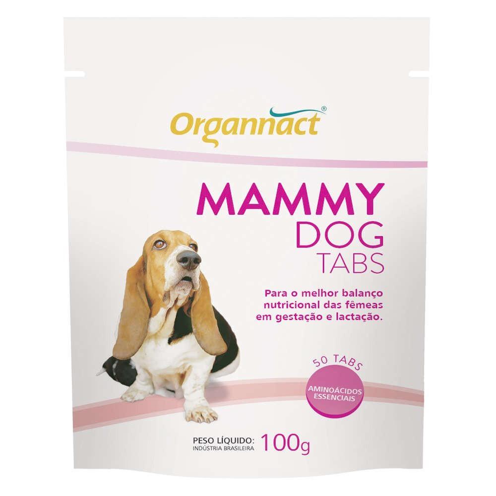 Suplemento alimentar organnact mammy dog tabs 100g