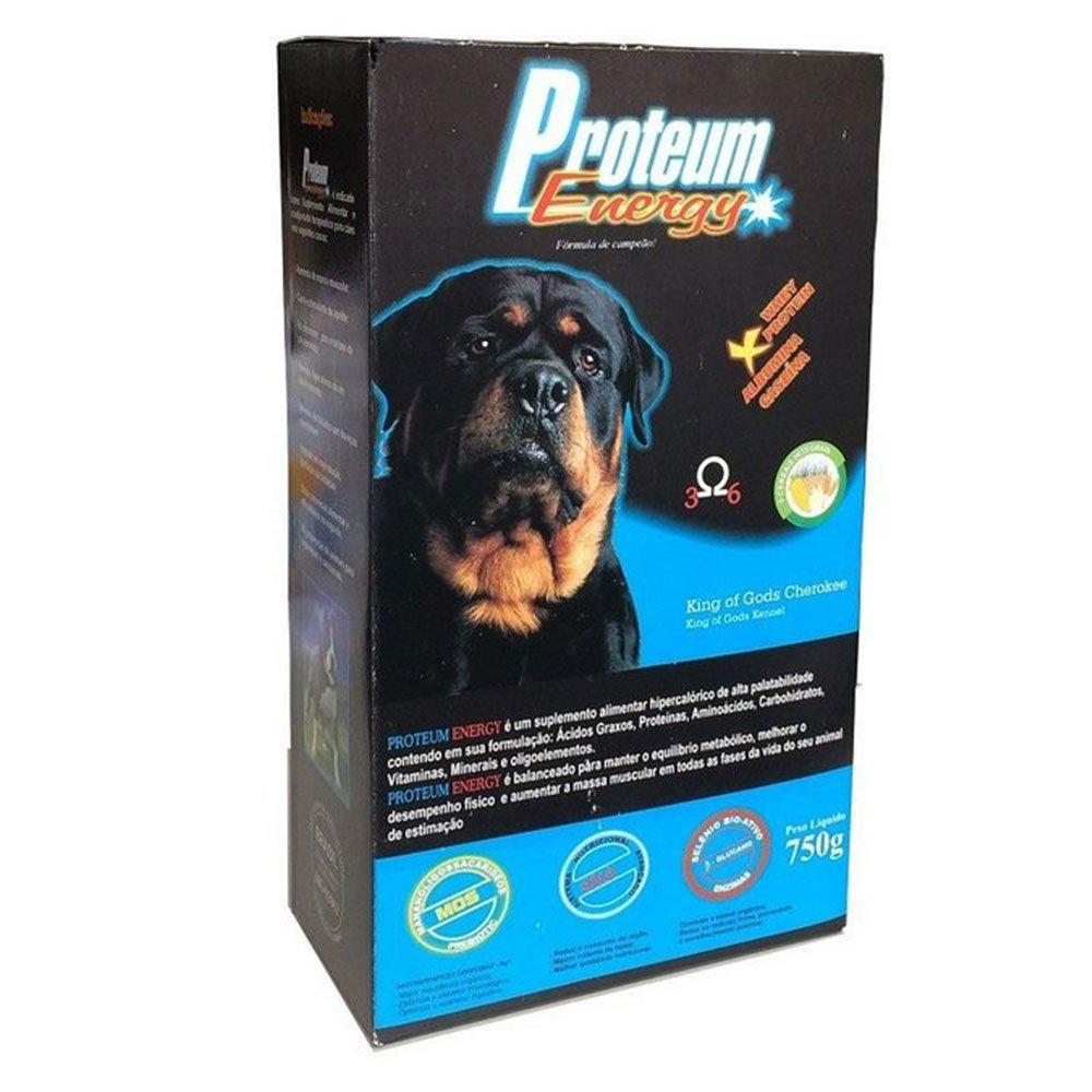 Suplemento alimentar para cães nutrisan proteum energy 750g
