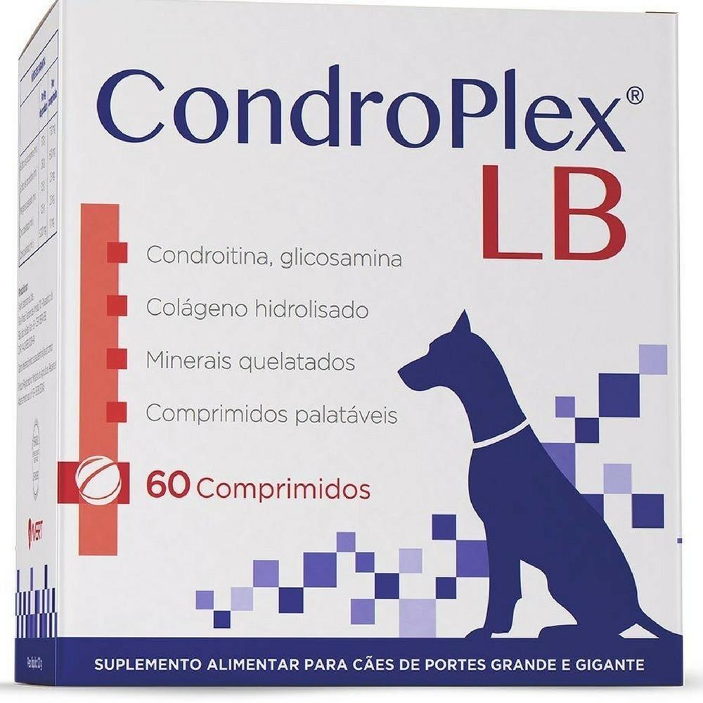 Suplemento avert condroplex lb para cães com 60 comprimidos