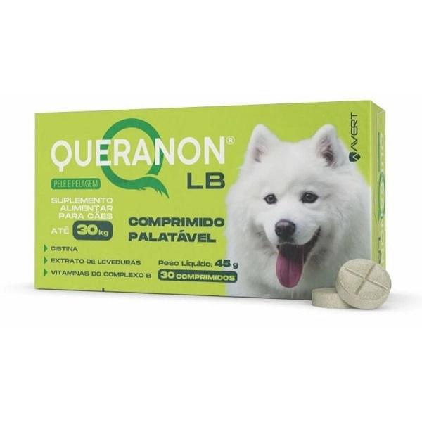 Suplemento avert queranon lb para cães até 30kg