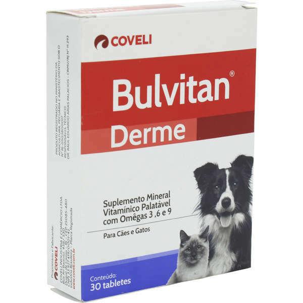 Suplemento coveli bulvitan derme 30 tabletes