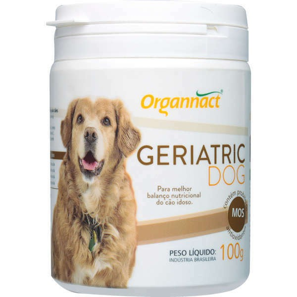 Suplemento mineral organnact geriatric dog 100g