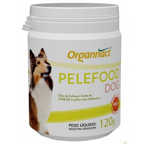 Suplemento mineral organnact pelefood dog em pó 120g
