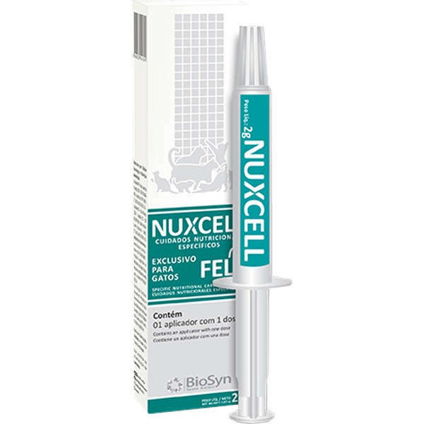 Suplemento nuxcell fel 2g