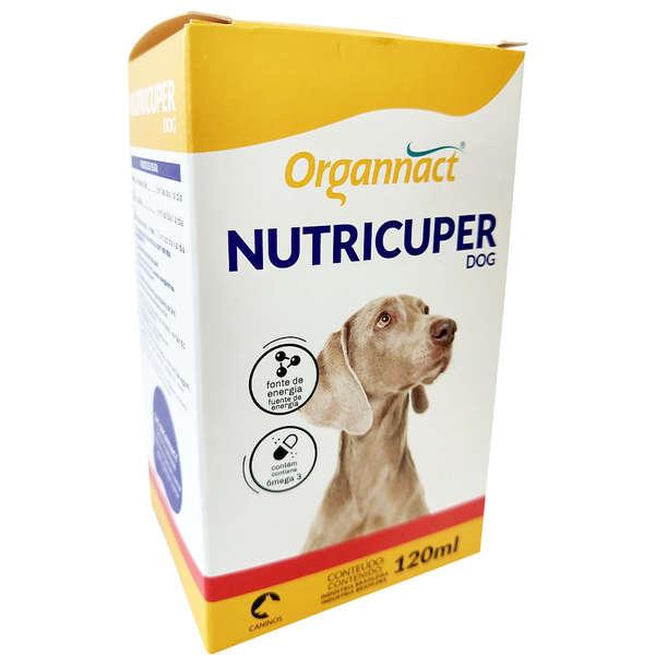 Suplemento Organnact Hipercalórico Nutricuper Líquido 120ml