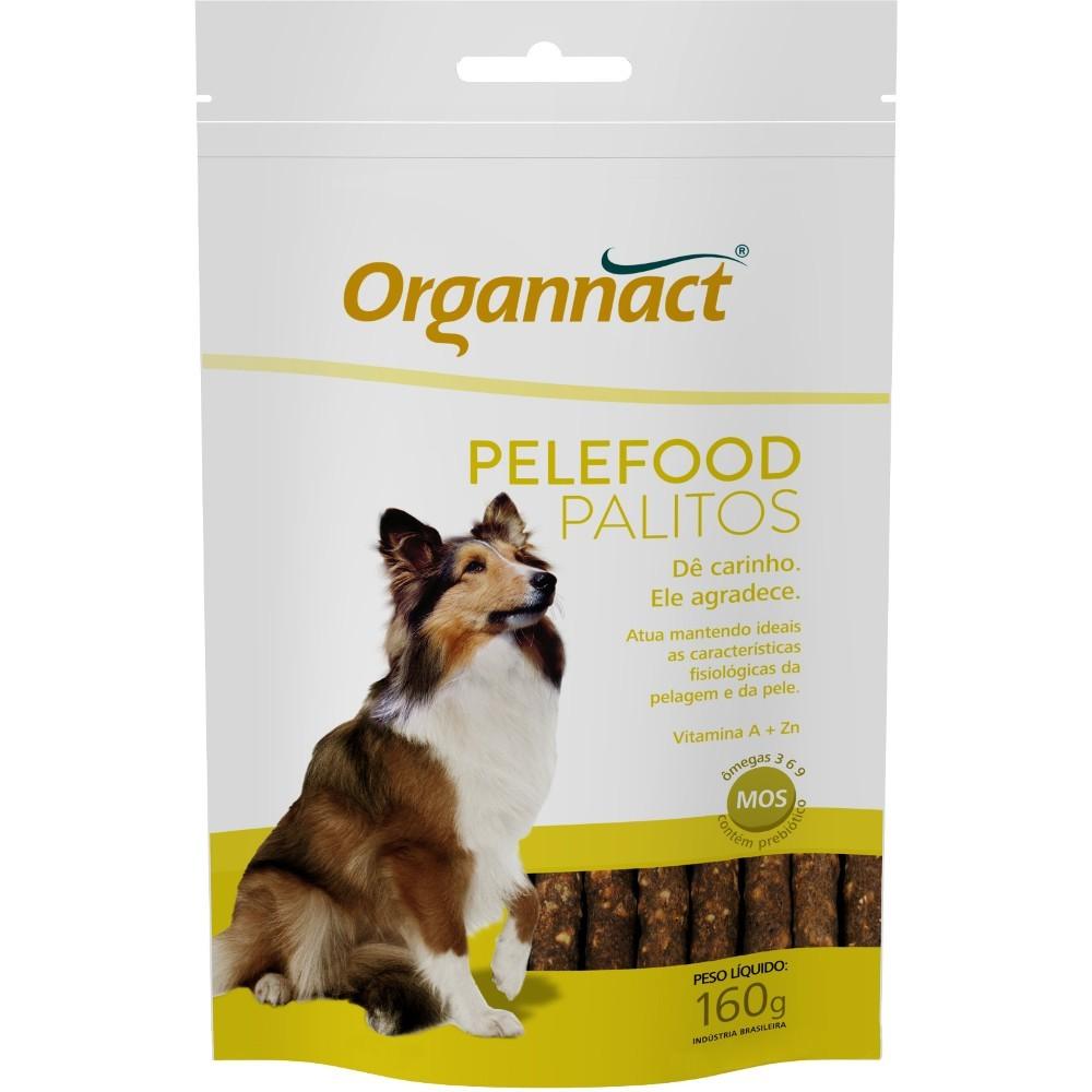 Suplemento organnact pelefood palitos para cães 160g