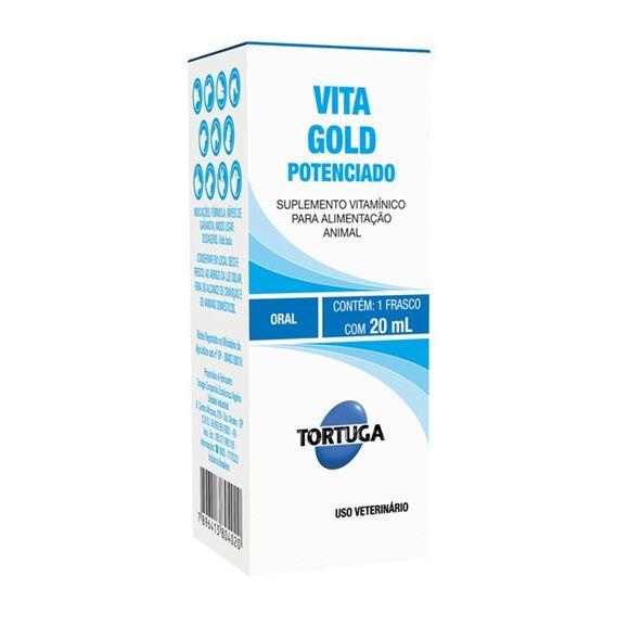 Suplemento Tortuga Vitagold Potenciado