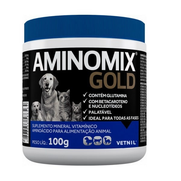 Suplemento vetnil aminomix gold 100g