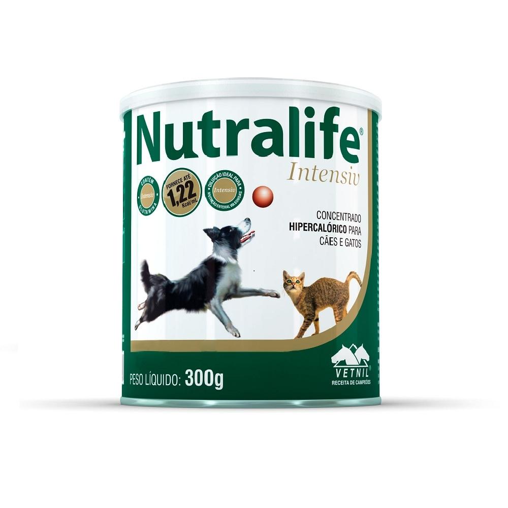 Suplemento vetnil nutralife intensiv para cães e gatos 300g