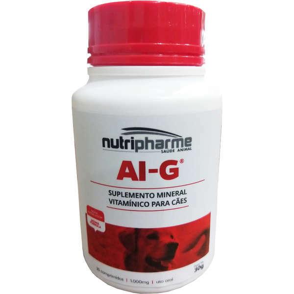 Suplemento vitamínico aig 30 comprimidos para cães