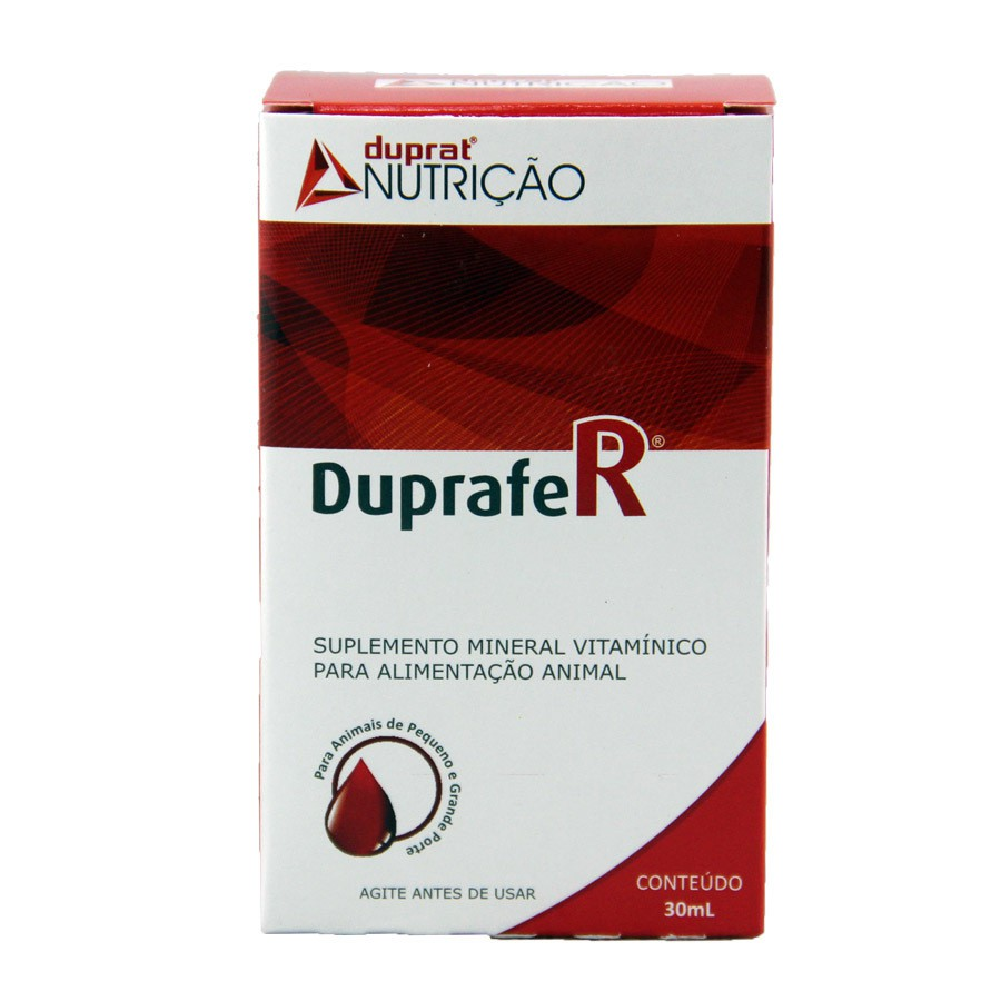 Suplemento vitamínico duprat duprafer