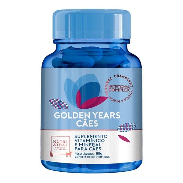 Suplemento vitamínico golden years 1000mg para cães