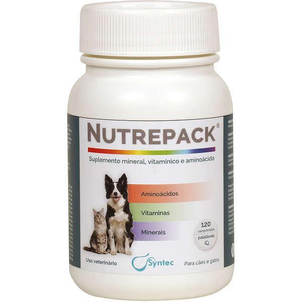 Suplemento vitamínico nutrepack frasco com 120 comprimidos