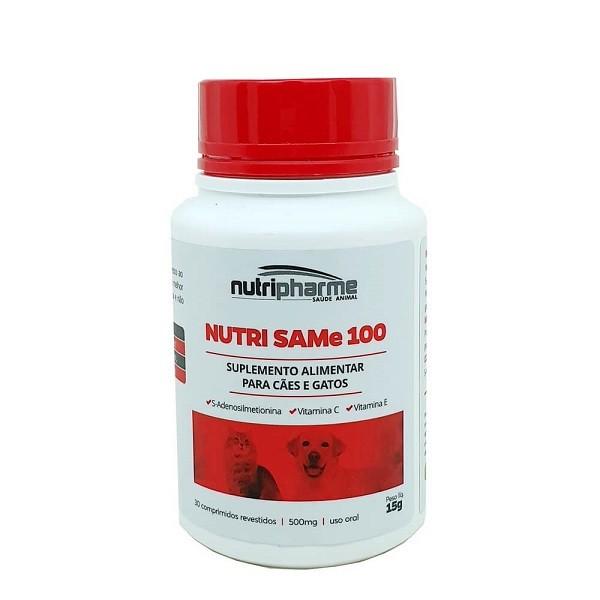 Suplemento vitamínico nutri same 100 com 30 comprimidos 30g