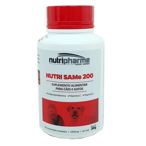 Suplemento vitamínico nutri same 200 com 30 comprimidos 30g