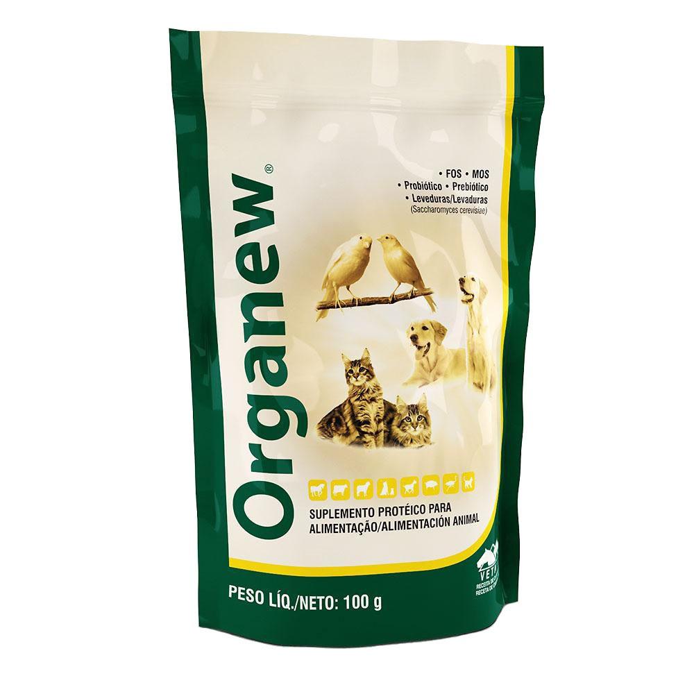 Suplemento vitamínico organew forte probiótico + prebiótico 100g