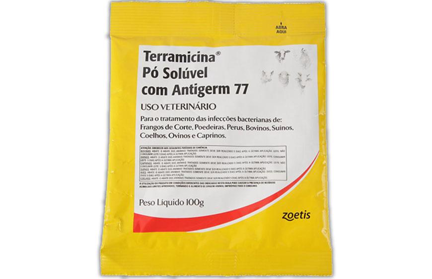 Terramicina pó antigerme 77 - 100 g