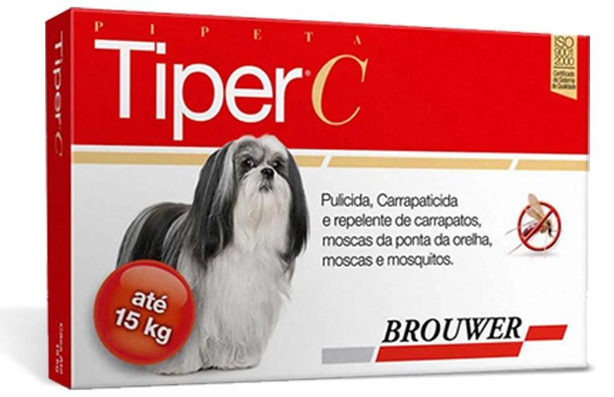 Tiper c brouwer para cães até 15kg