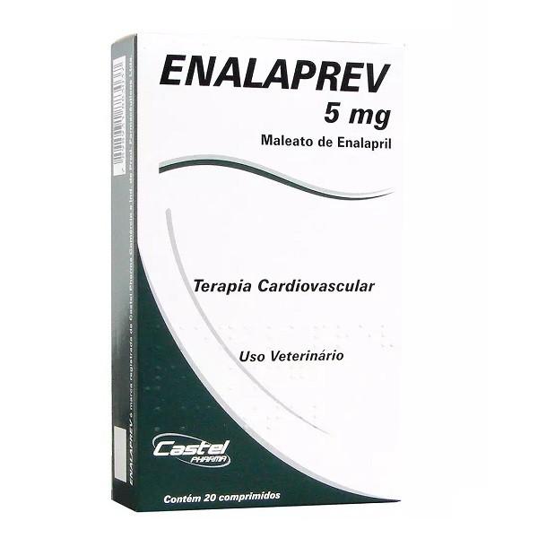 Vasodilatador enalaprev 5mg com 20 comprimidos
