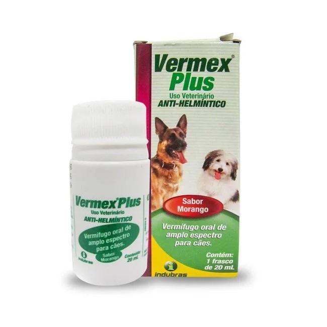 Vermífugo indubrás vermex plus 20ml