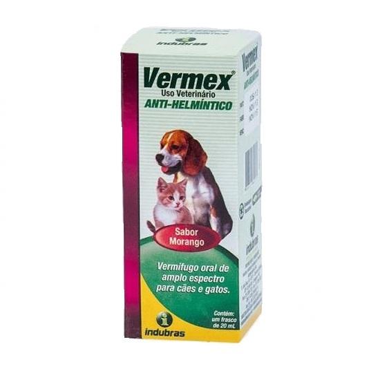 Vermifugo vermex composto 20ml