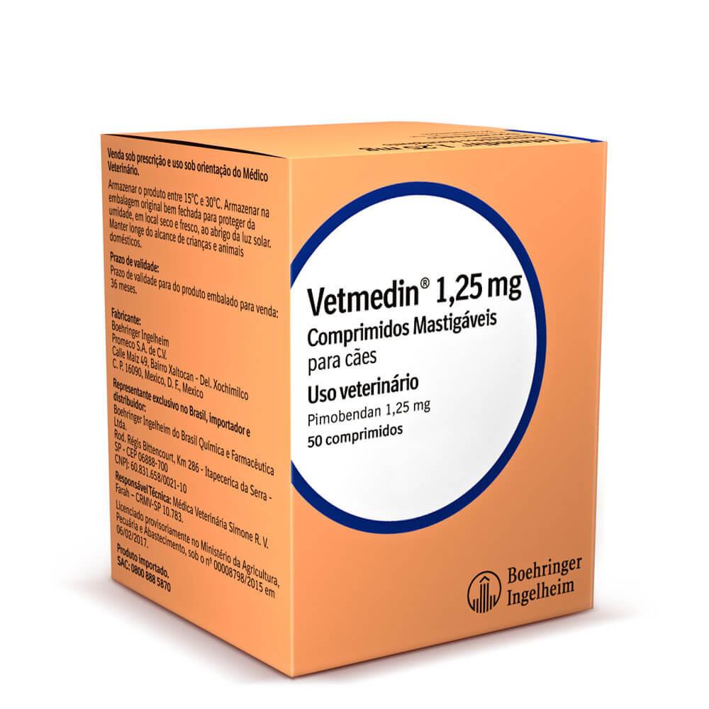 Vetmedin boehringer ingelheim 50 comprimidos mastigáveis para cães
