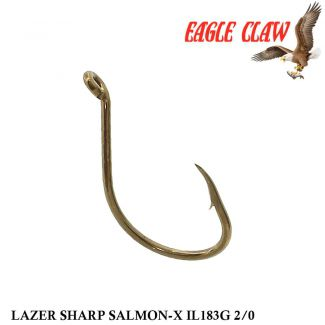 Anzol Eagle Claw Lazer Sharp Salmon-X IL183G 2/0