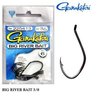 Anzol Gamakatsu Big River Bait 3/0 - 225413