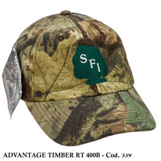 Boné Americano Camo Hunting Advantage Timber - Cod. 339