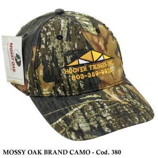 Boné Americano Mossy Oak Brand Camo - Cod. 380